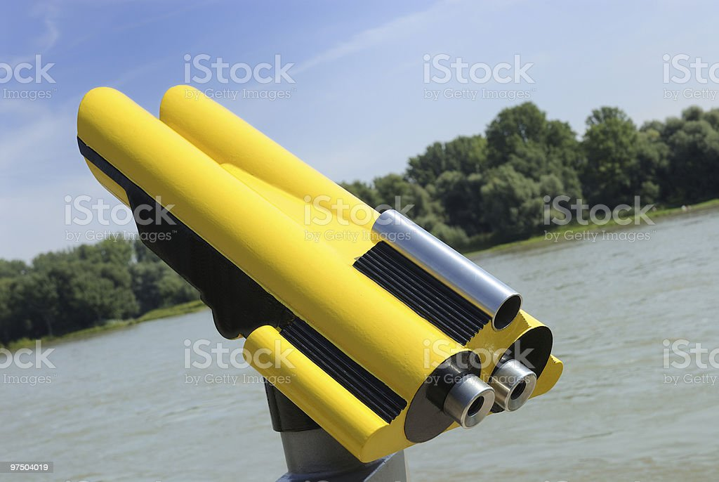 binoculars royalty-free stock photo