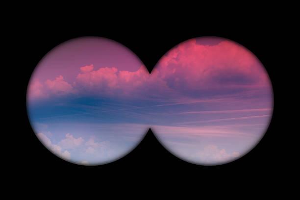 Panoramique Vue le matin du ciel - Photo