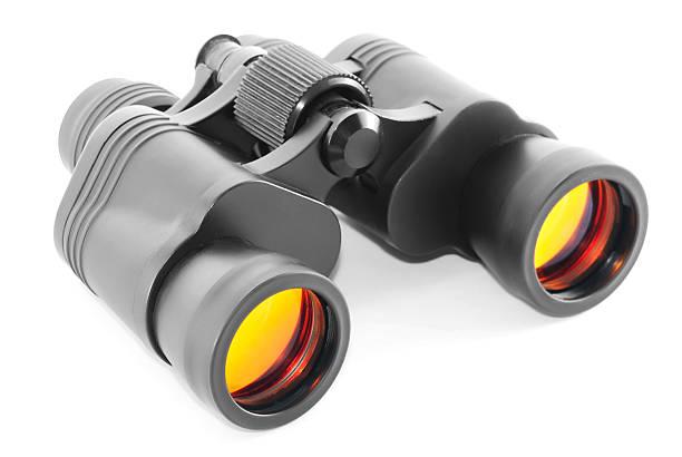 Binoculars with orange lenses – Foto