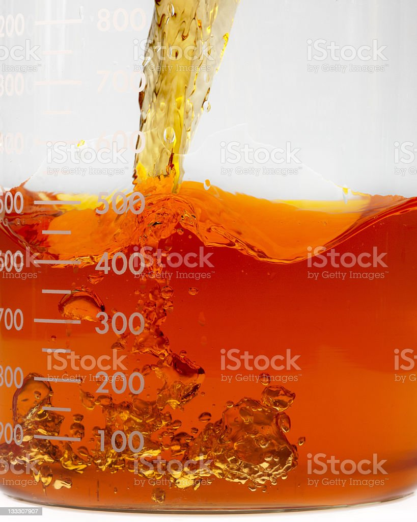 Bio fuel research royalty-free stock photo