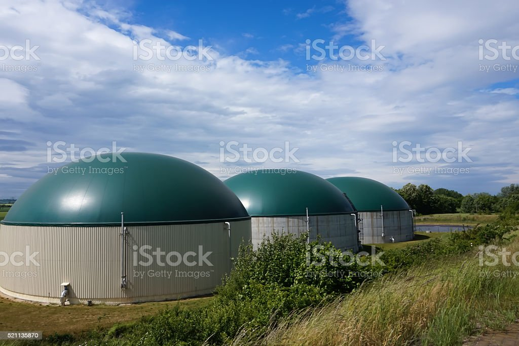 bio power plant stock photo