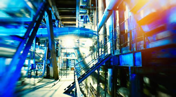 Biokraftwerk. Recyclinganlage – Foto