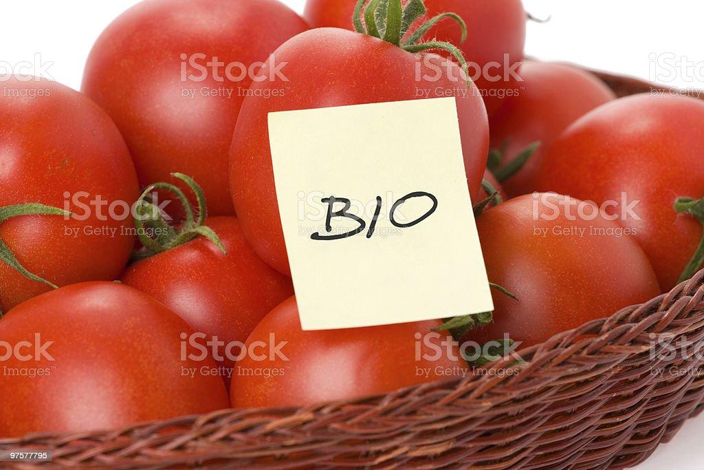 Biographie de tomates photo libre de droits
