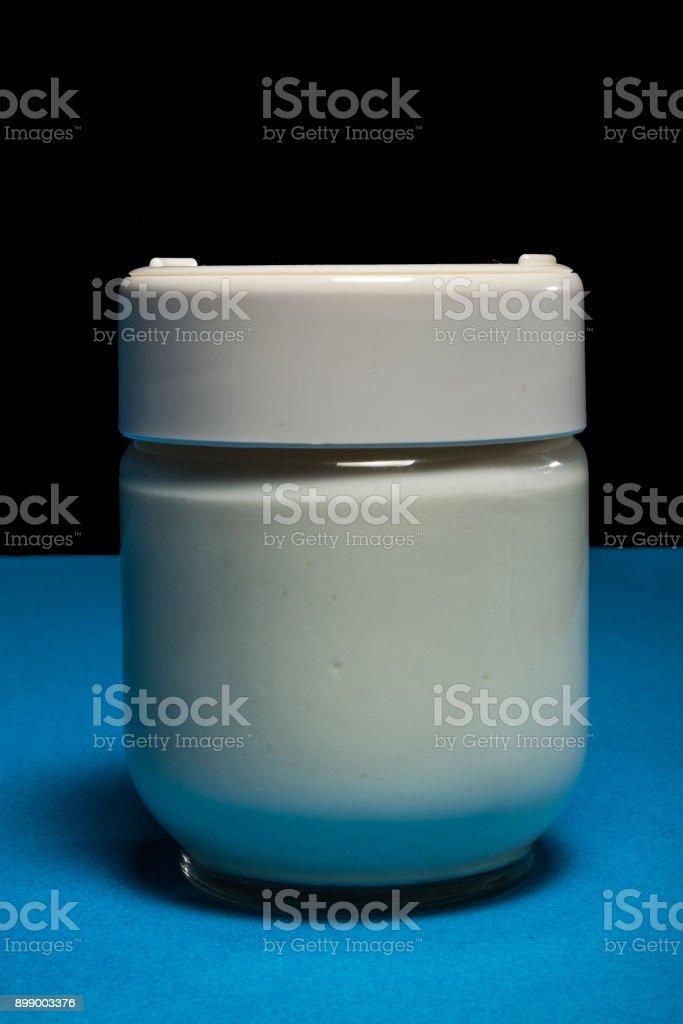 Bio Yogurt stock photo
