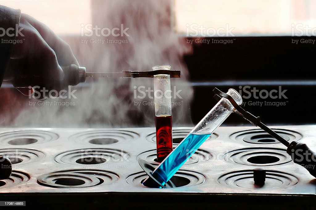 Biochemistry Laboratory stock photo
