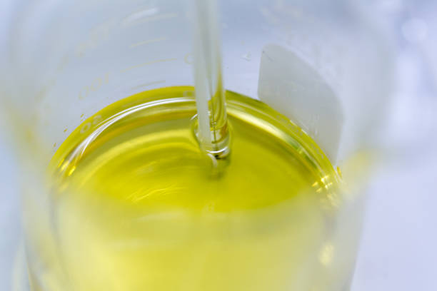 Biodiesel production is the process of producing the biofuel, biodiesel, in laboratory. Biodiesel production is the process of producing the biofuel, biodiesel, in laboratory. biodiesel stock pictures, royalty-free photos & images