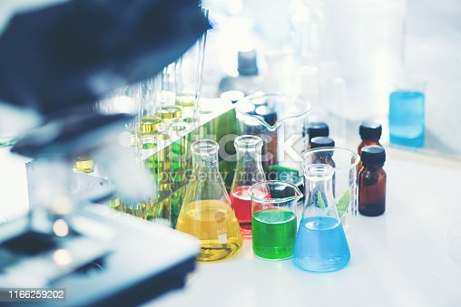 biofuel oil research in laboratory, biofuel energy power concept