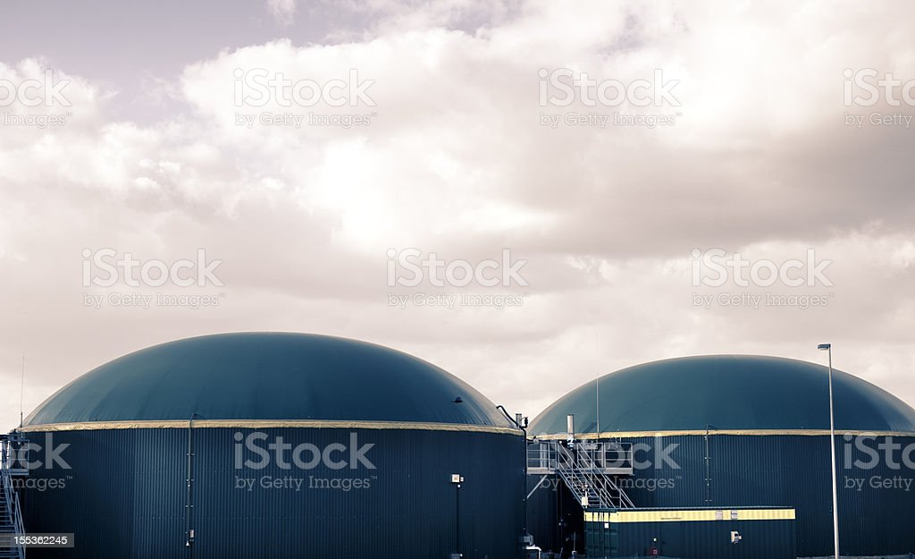 Biogas energy Germany. stock photo