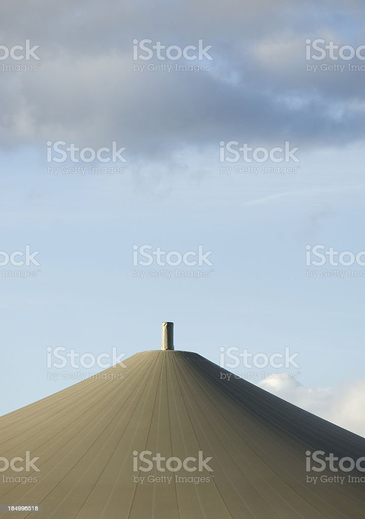 Biogas energy Germany. royalty-free stock photo