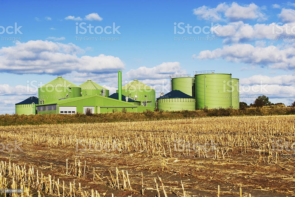 Biogas Industry stock photo