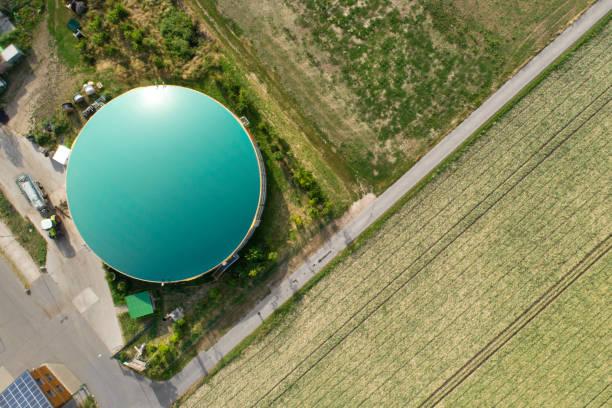 Biogas plant – Foto