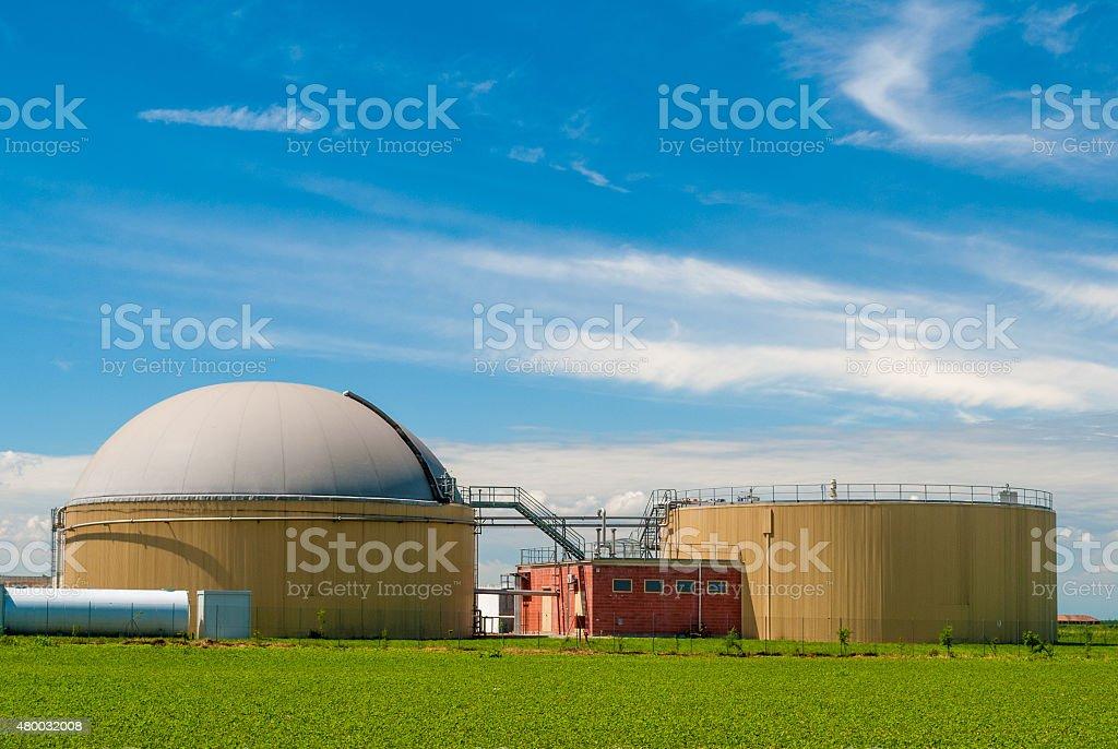 Biogaz plant - Photo
