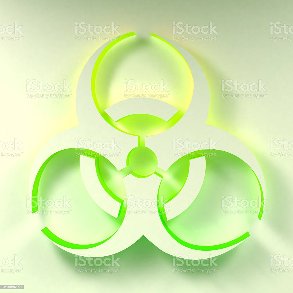 Biohazard Symbol Illustration Stock Photo More Pictures Of