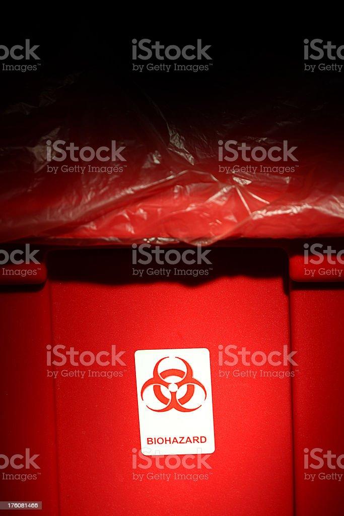 Biohazard Waste royalty-free stock photo