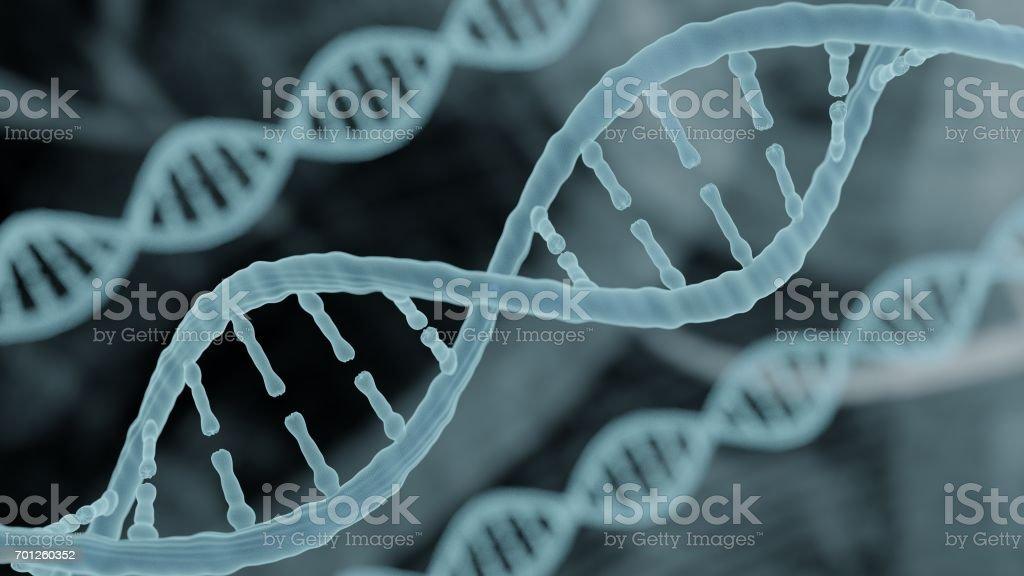 Bioinformatics biotechnology concept of DNA stock photo