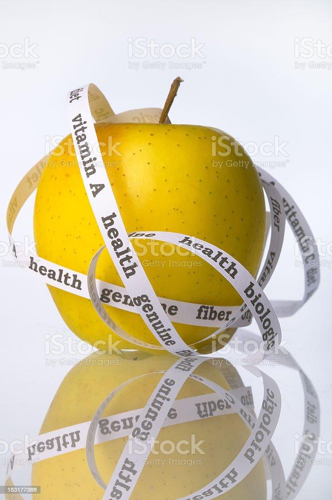 biologic apple royalty-free stock photo