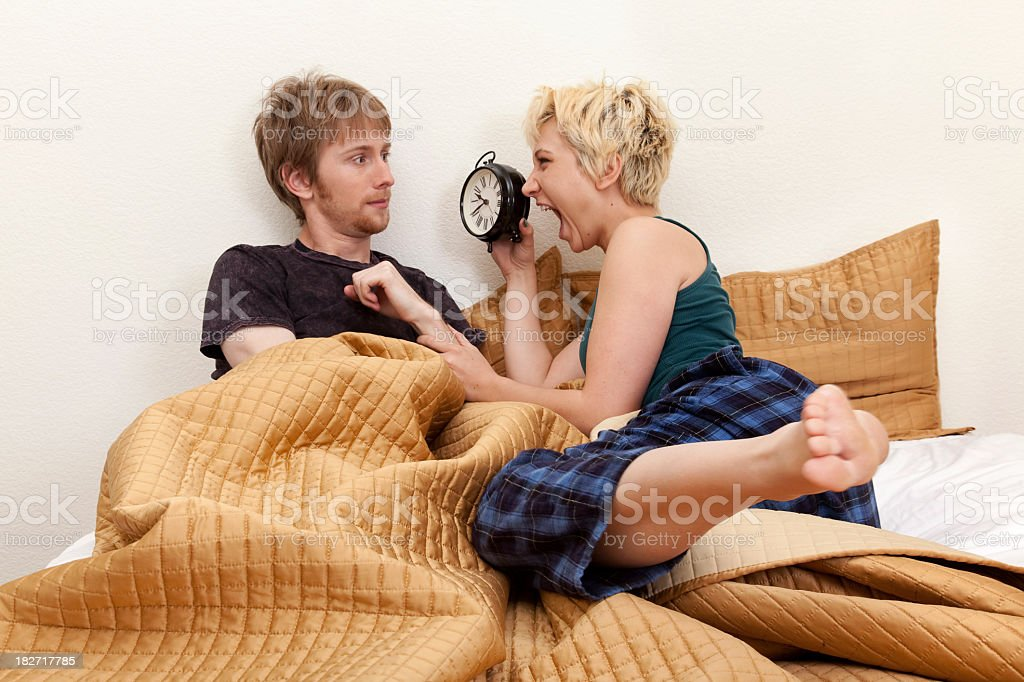 Biological Clock is Ticking stock photo