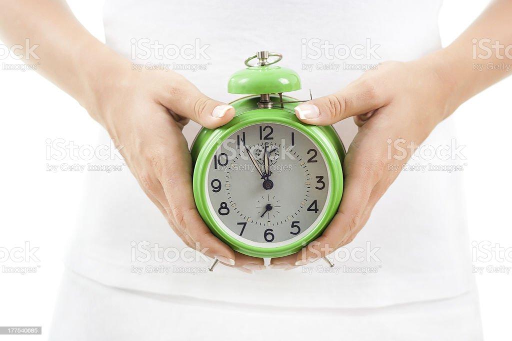 Biological clock stock photo