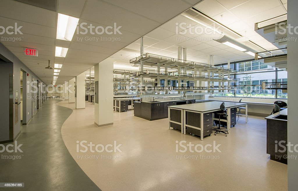 Biology Lab stock photo