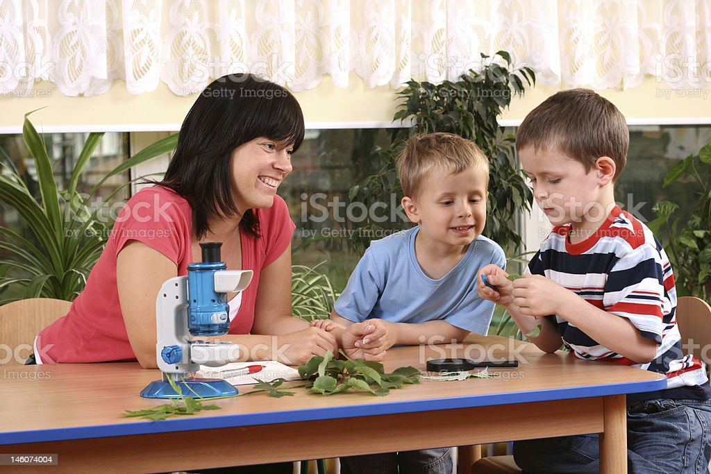 biology lesson royalty-free stock photo