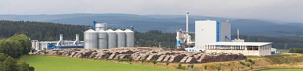 biomass cogeneration plant - cogeneration plant stock photos and pictures