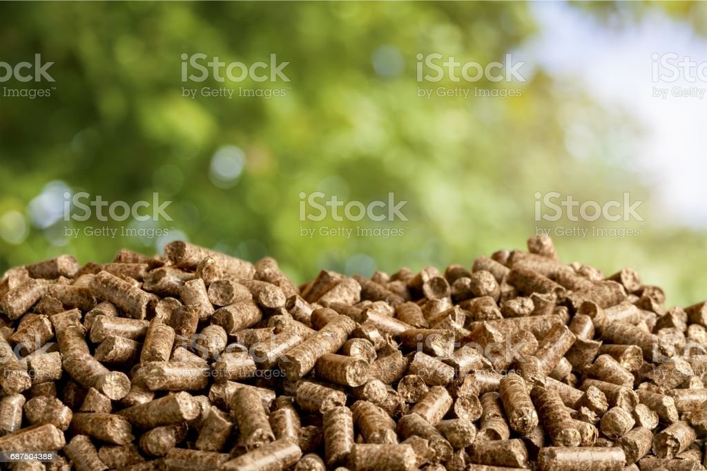 Biomass. stock photo