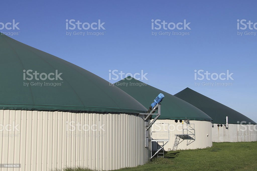 biomass plant stock photo