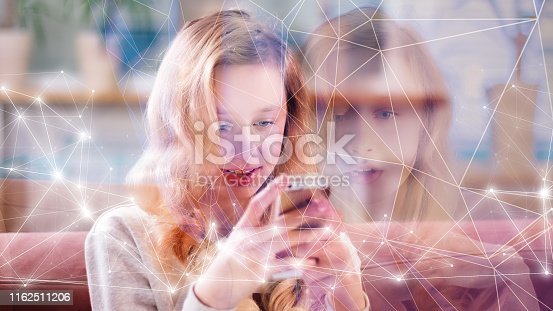 851960142istockphoto Biometric digital process, human scan futuristic concept 1162511206