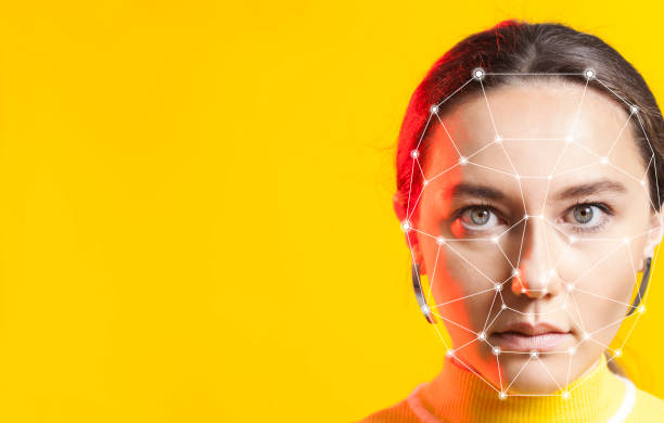 Biometrische Gesichtserkennung – Foto