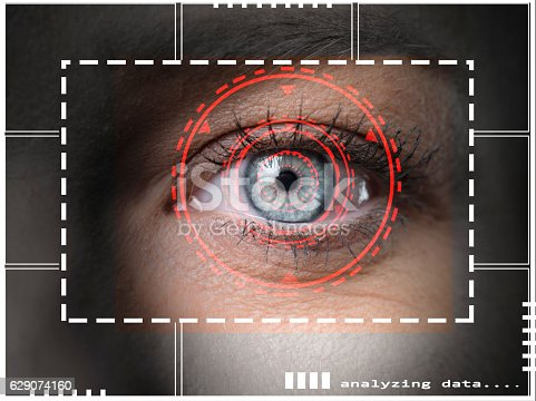 510584002istockphoto Biometric security scan 629074160