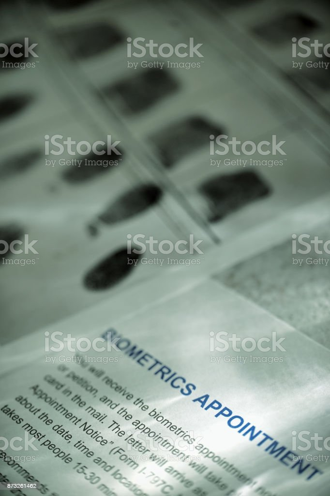 Biometrics Appointment Stock Photo - Download Image Now - iStock