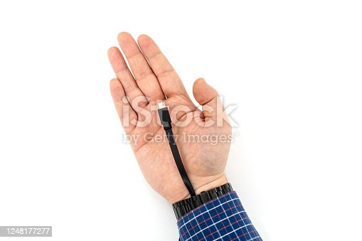 istock Bionic augmentation with cable interface 1248177277