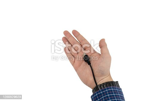 istock Bionic augmentation with cable interface 1255529523