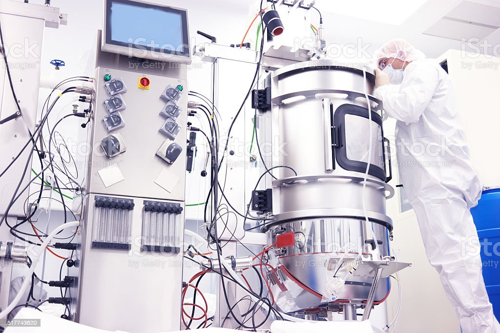 Bioreactor stock photo
