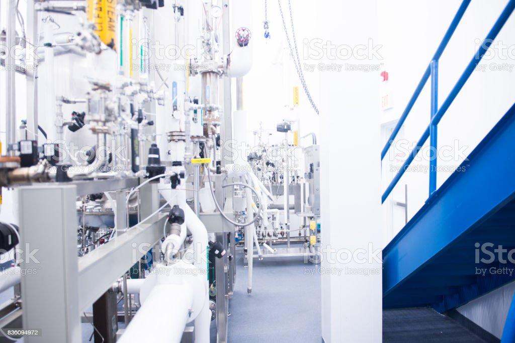 Bioreactors stock photo