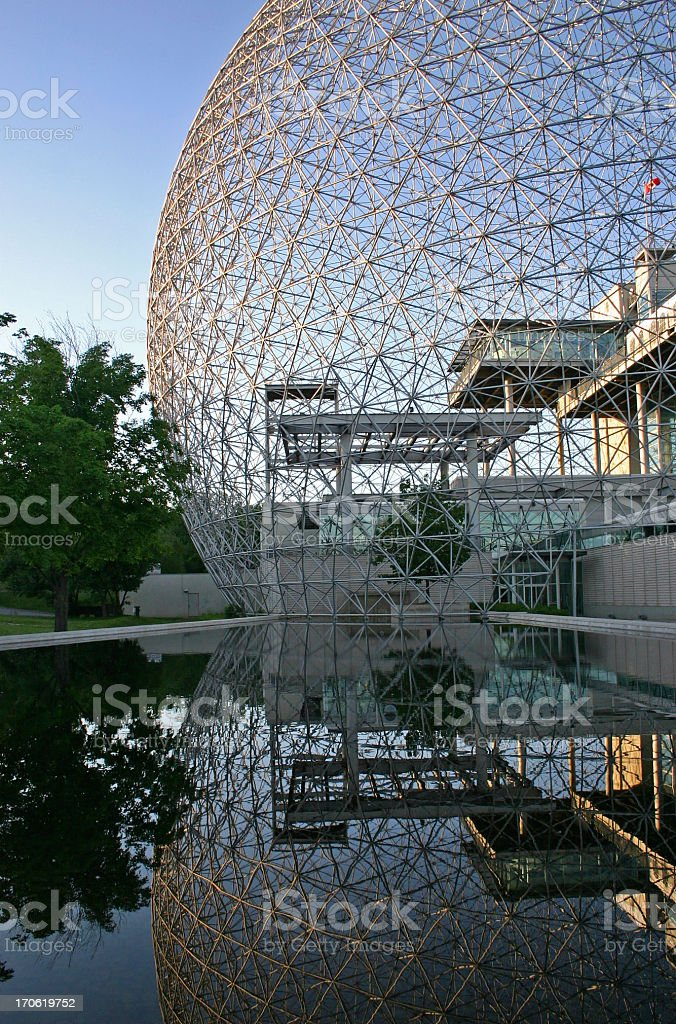 Biosphere Architecture stock photo