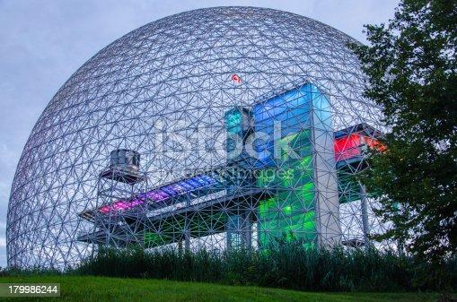 The Montreal Biosphere.