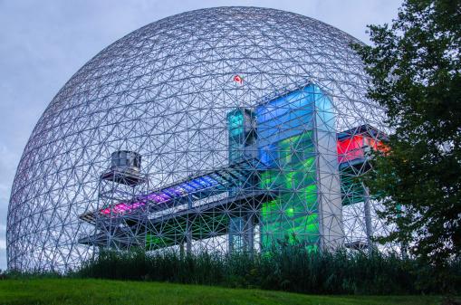 istock Biosphere Structure, Montreal, Quebec, Canada, Museum, The Future 179986244