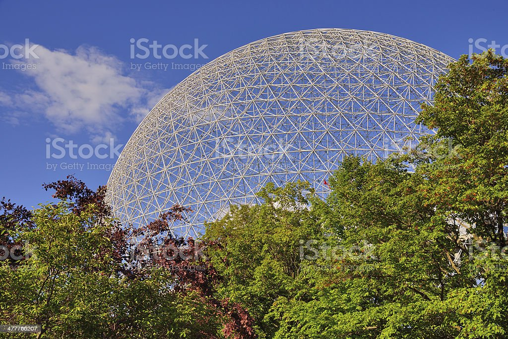 Biosphere Structure stock photo