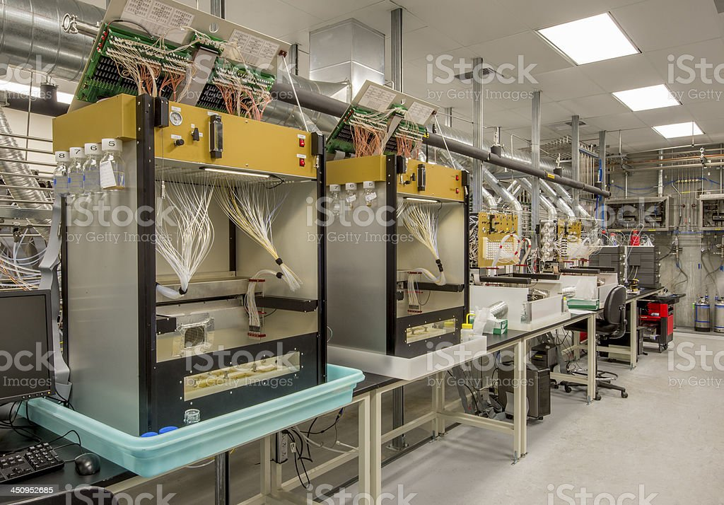 Biotech Laboratory royalty-free stock photo