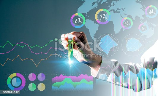 istock biotechnology concept. 858503512