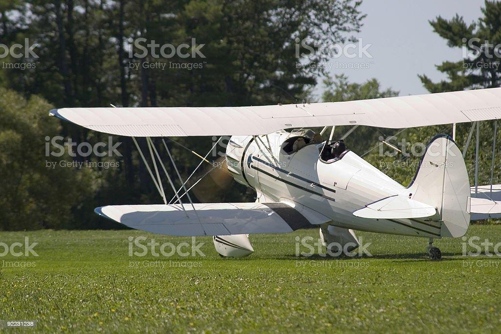 Bi-plane 05 royalty-free stock photo