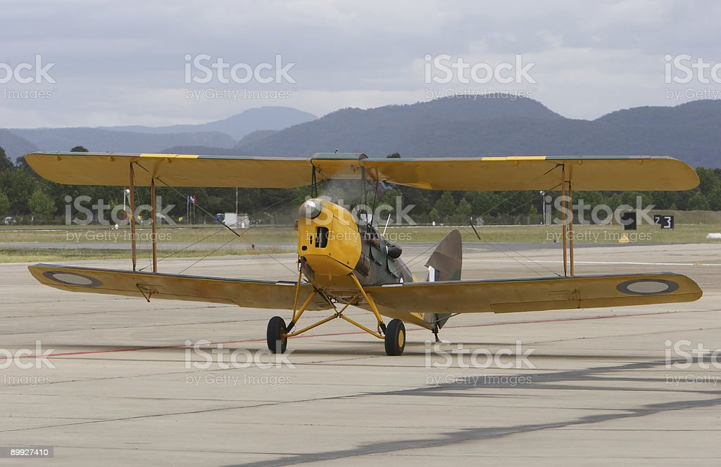 Bi-Plane royalty-free stock photo