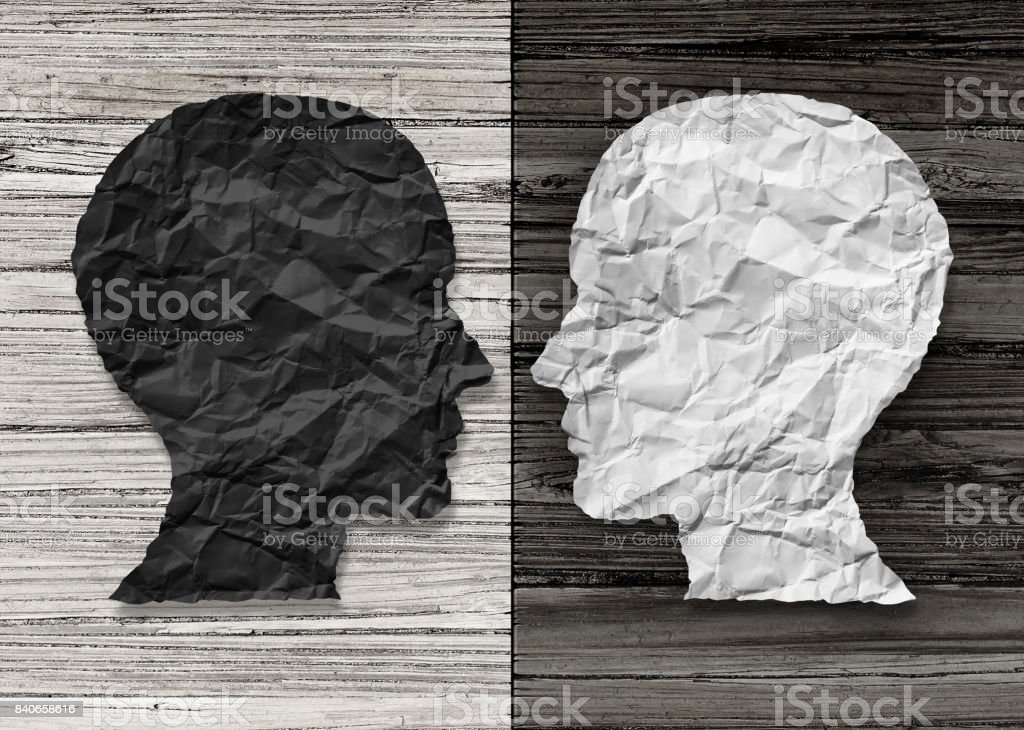Bipolar Mental Health stock photo