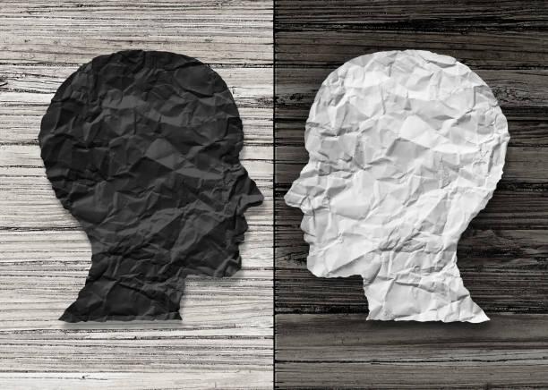 Bipolar Mental Health stock photo
