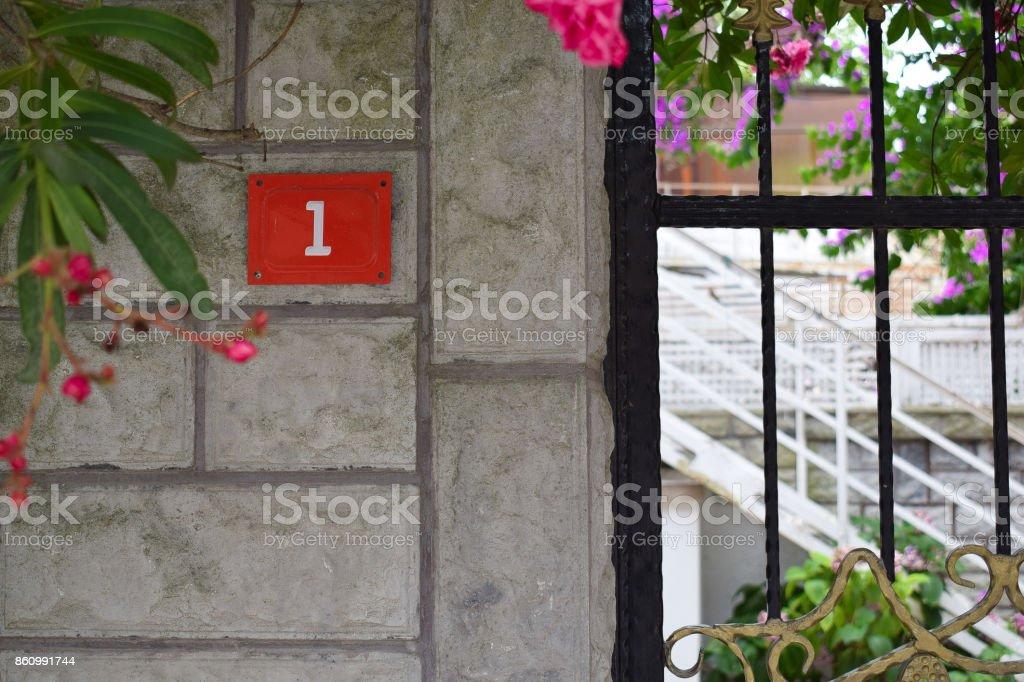 bir numaralı ev stock photo