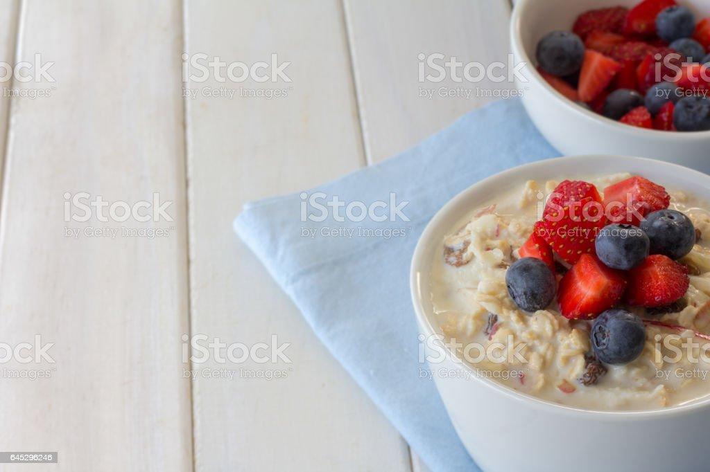 Bircher Muesli and Berries - Photo