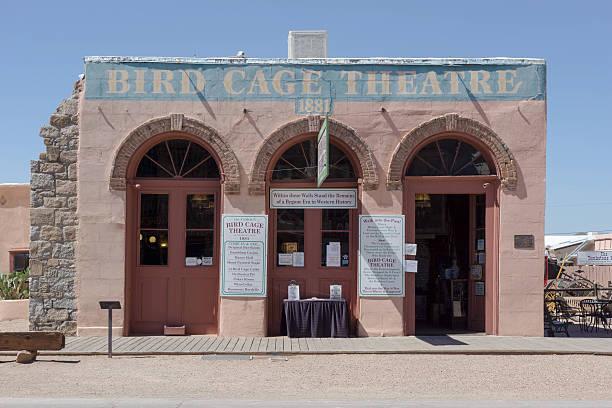 Vogel Käfig Theater in Grabstein, Arizona – Foto