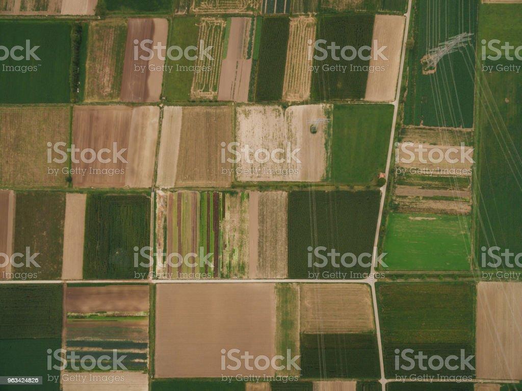 vue de beaux champs agricoles, europe - Photo de Agriculture libre de droits