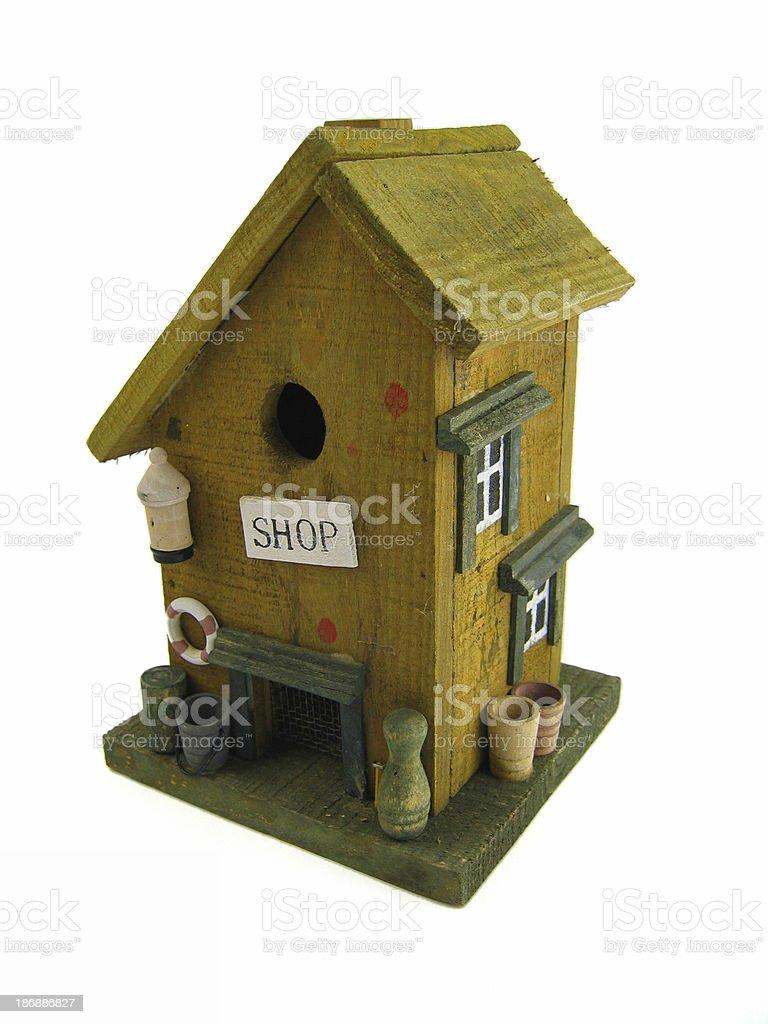 bird house deluxe 1 royalty-free stock photo